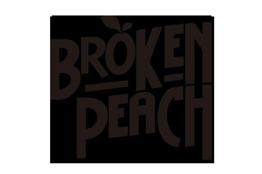 Broken Peach